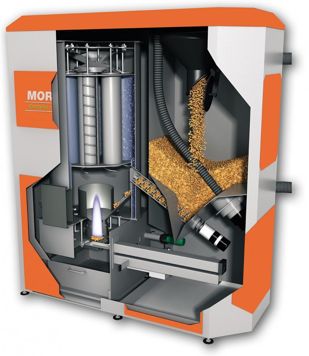 Chaudiere granules energies naturels for Prix d une chaudiere a granule