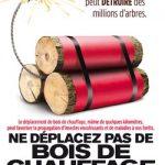 Frene bois chauffage