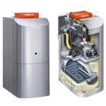 Chaudière à condensation fuel