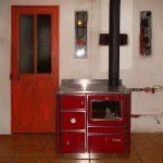 Cuisiniere a bois chauffage central