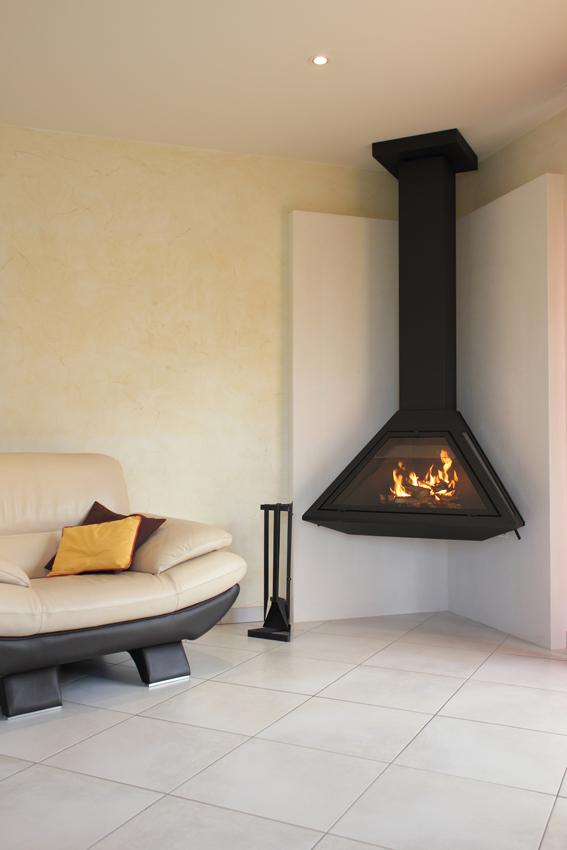 poele bois suspendu energies naturels. Black Bedroom Furniture Sets. Home Design Ideas