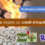 Chauffage central bois avec hydroaccumulation