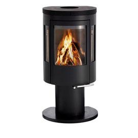 poele bois 6kw energies naturels. Black Bedroom Furniture Sets. Home Design Ideas