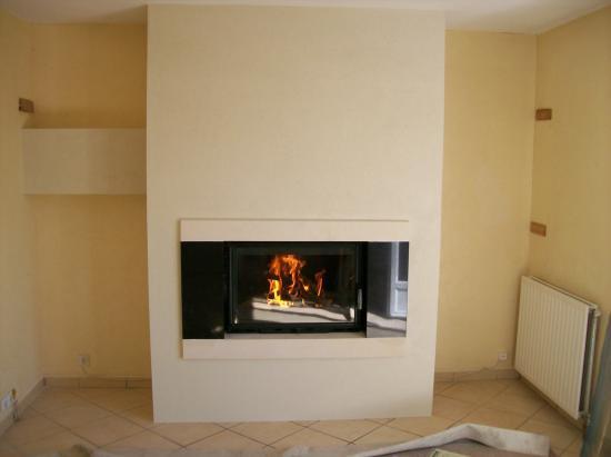 Modele chemin e avec insert energies naturels for Modele de cheminee avec insert