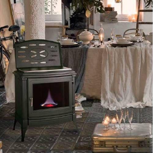 poele en fonte mazout efel energies naturels. Black Bedroom Furniture Sets. Home Design Ideas