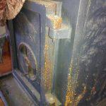 Nettoyage d'un poele en fonte