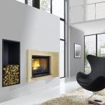 Decoration cheminee avec insert