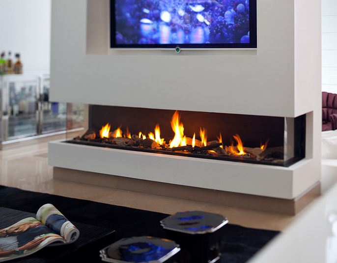 Cheminee moderne design - Energies naturels
