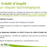 Credit impot habitation principale 2015
