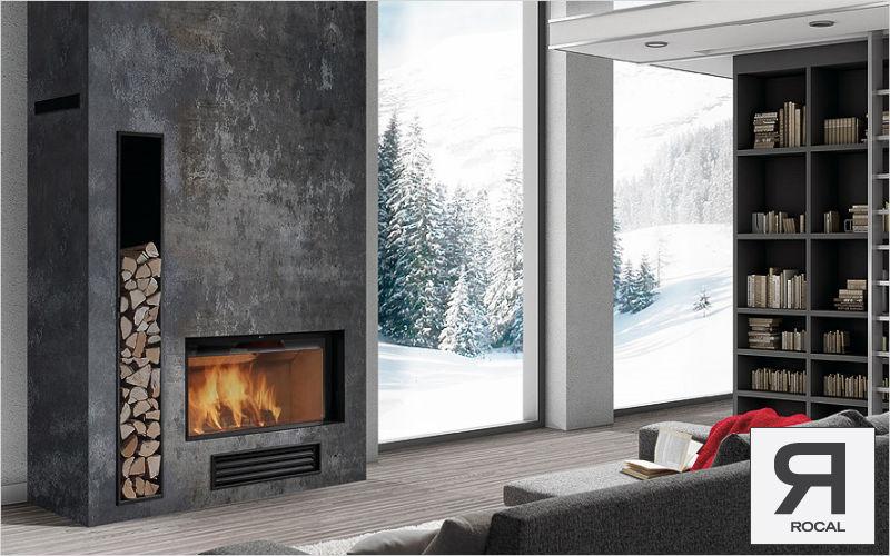 chemin e contemporaine foyer ferm energies naturels. Black Bedroom Furniture Sets. Home Design Ideas