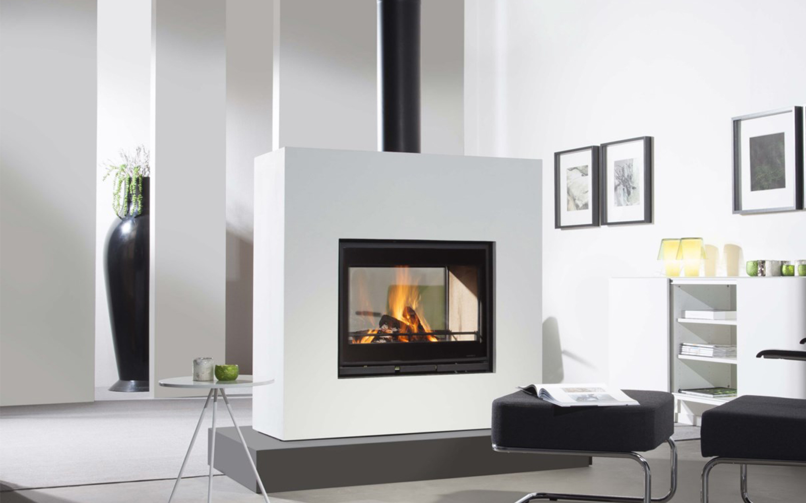 poele bois ou insert energies naturels. Black Bedroom Furniture Sets. Home Design Ideas