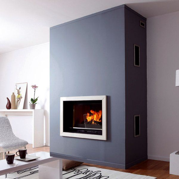 chemin e moderne avec insert energies naturels. Black Bedroom Furniture Sets. Home Design Ideas