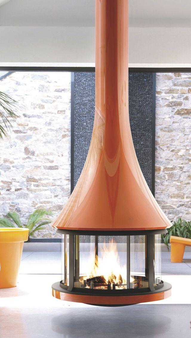 Cheminee ethanol suspendu simple cheminee design suspendu - Cheminee ethanol verticale ...