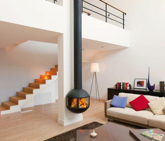 poeles a bois design contemporain energies naturels. Black Bedroom Furniture Sets. Home Design Ideas