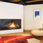 Poele cheminee design
