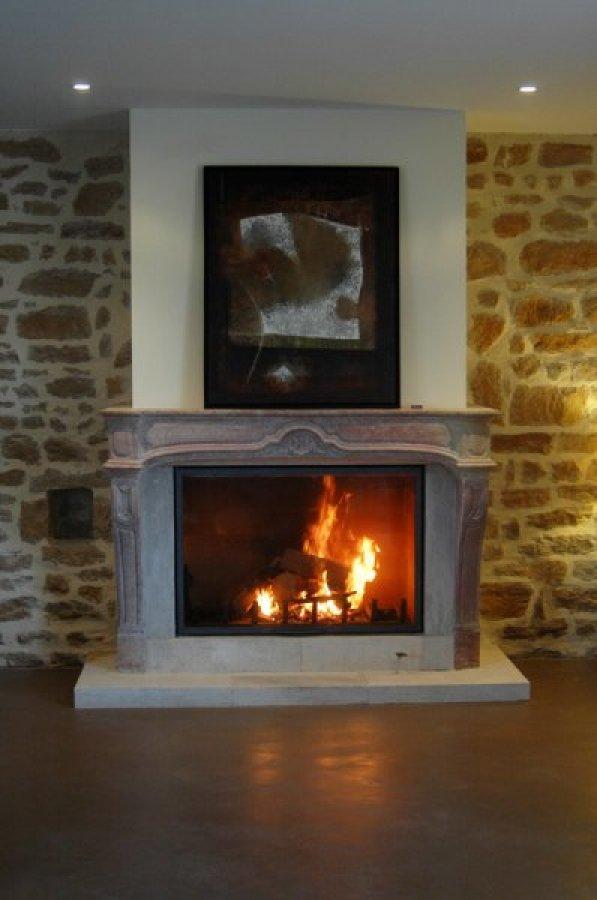cheminee a foyer ferme energies naturels. Black Bedroom Furniture Sets. Home Design Ideas