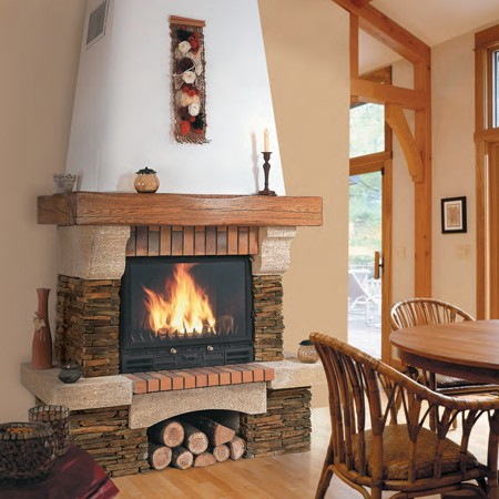 chemin e foyer ferm energies naturels. Black Bedroom Furniture Sets. Home Design Ideas