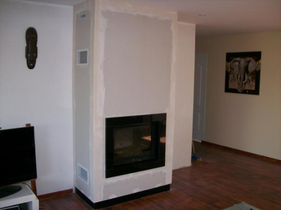 Chemin e insert bois energies naturels - Comment allumer un feu de cheminee avec insert ...