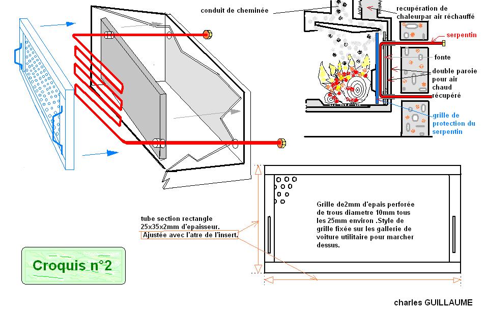 Interieur insert chemin e energies naturels - Credit d impot pour installation d un insert ...