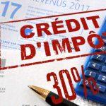 Credit impot 1 maison