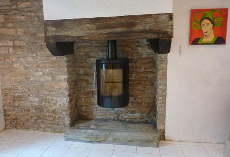 poele cheminee bois energies naturels. Black Bedroom Furniture Sets. Home Design Ideas