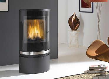 poele a bois en fonte suedois energies naturels. Black Bedroom Furniture Sets. Home Design Ideas