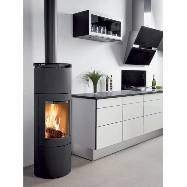 poele a bois 4 kw fonte energies naturels. Black Bedroom Furniture Sets. Home Design Ideas