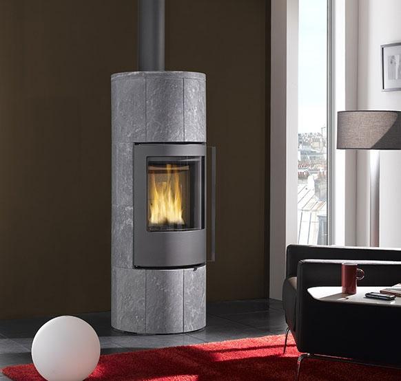 poele a granule en pierre. Black Bedroom Furniture Sets. Home Design Ideas
