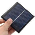 Petit panneau photovoltaique