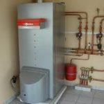 Chauffage central pompe à chaleur