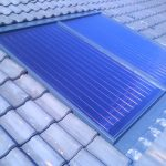 Panneau solaire eau chaude