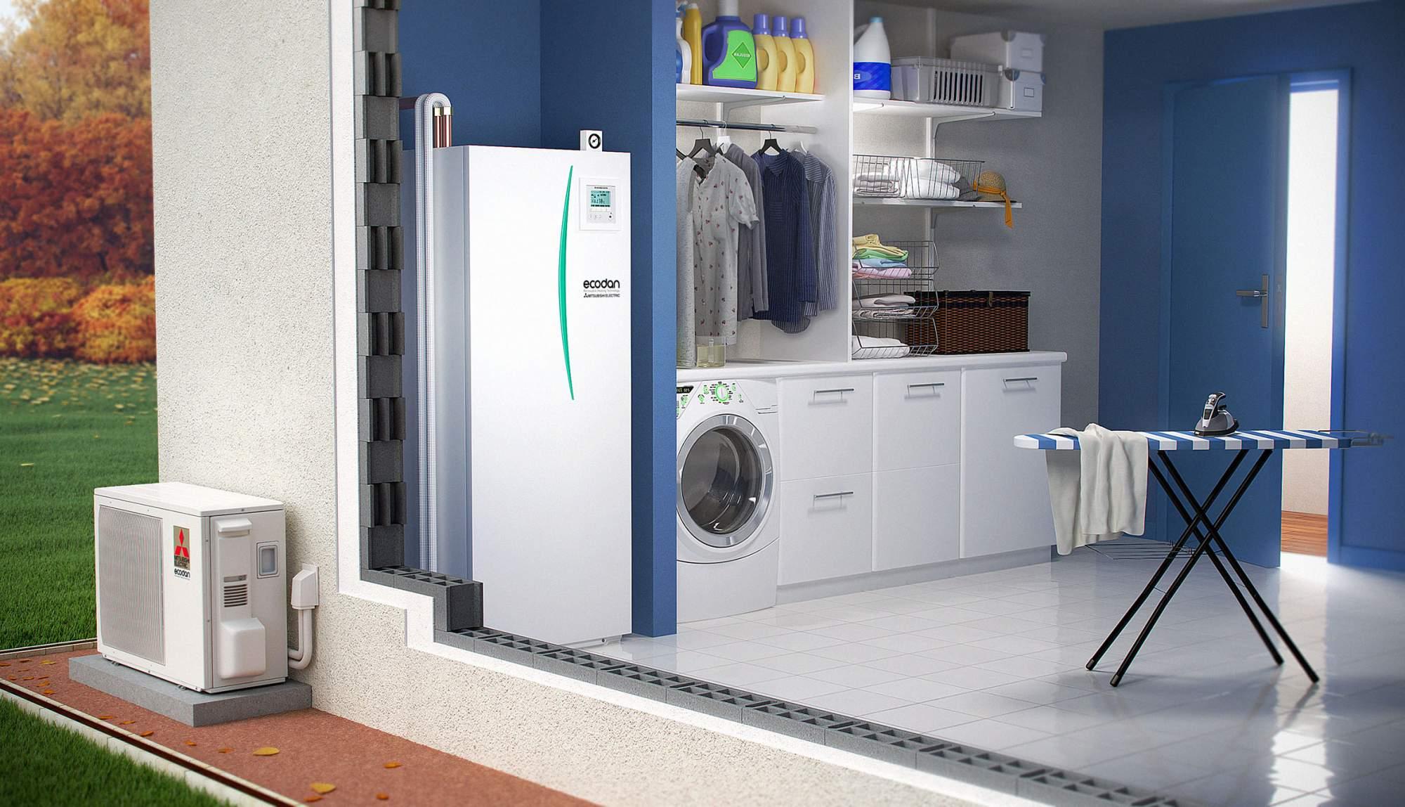 pompe a chaleur pour radiateur a eau energies naturels. Black Bedroom Furniture Sets. Home Design Ideas