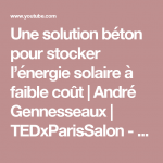 Energie solaire youtube