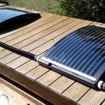 Chauffe eau solaire piscine