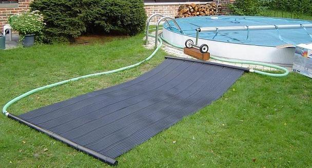 Chauffe eau solaire pour piscine energies naturels for Panneau solaire piscine chauffage