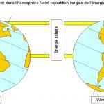 Energie solaire reçue par la terre calcul