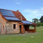 Toit panneau solaire