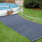 Chauffage piscine panneaux solaires