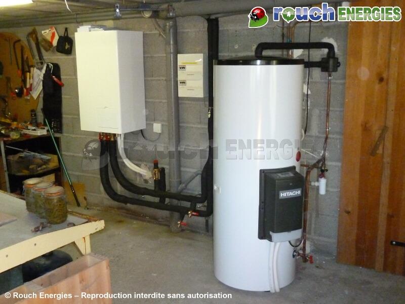 pompe chaleur pour chauffe eau energies naturels. Black Bedroom Furniture Sets. Home Design Ideas