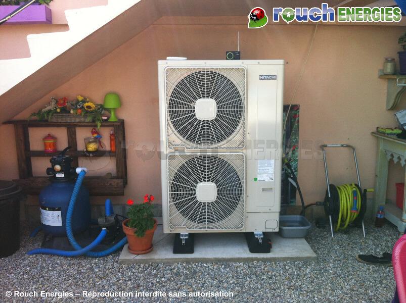 Pompe à chaleur yutaki s80